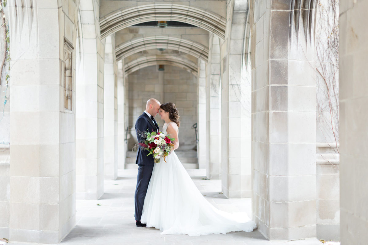 Newberry Library Chicago Wedding Jennifer Kathryn Weddings 12