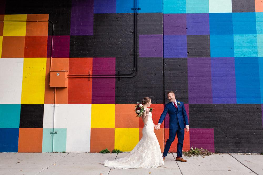 Pantone-wall-wedding
