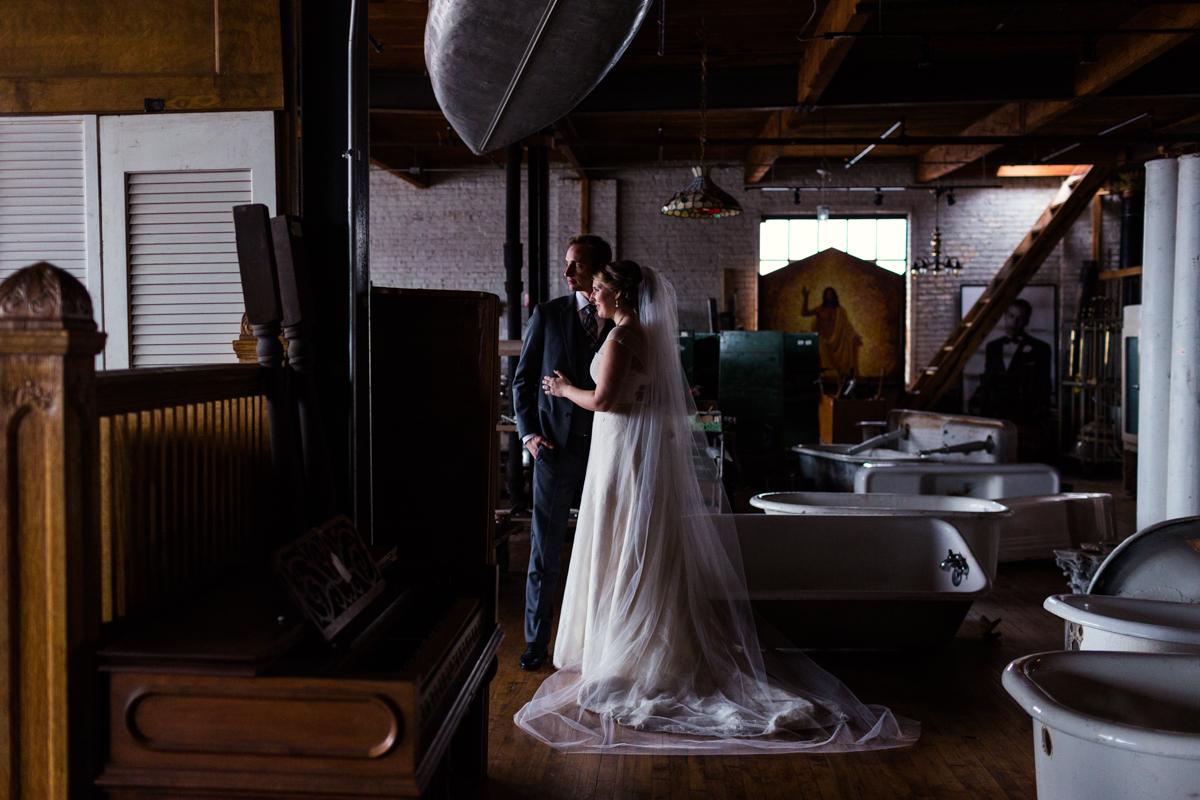 Salvage One wedding 8