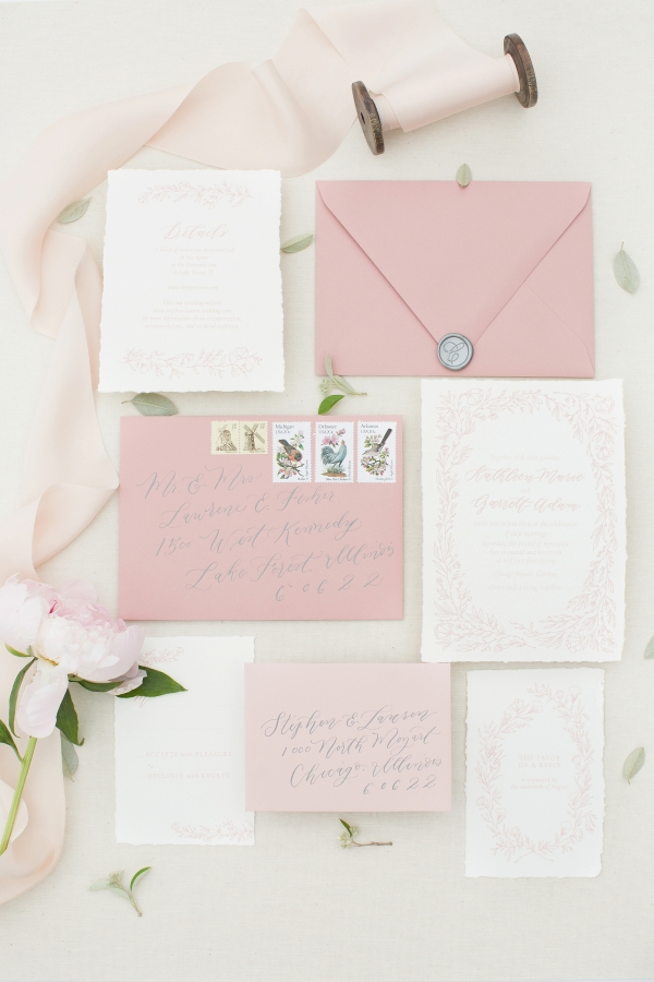 Chicago Botanic Garden Romantic Wedding Inspiration (1)