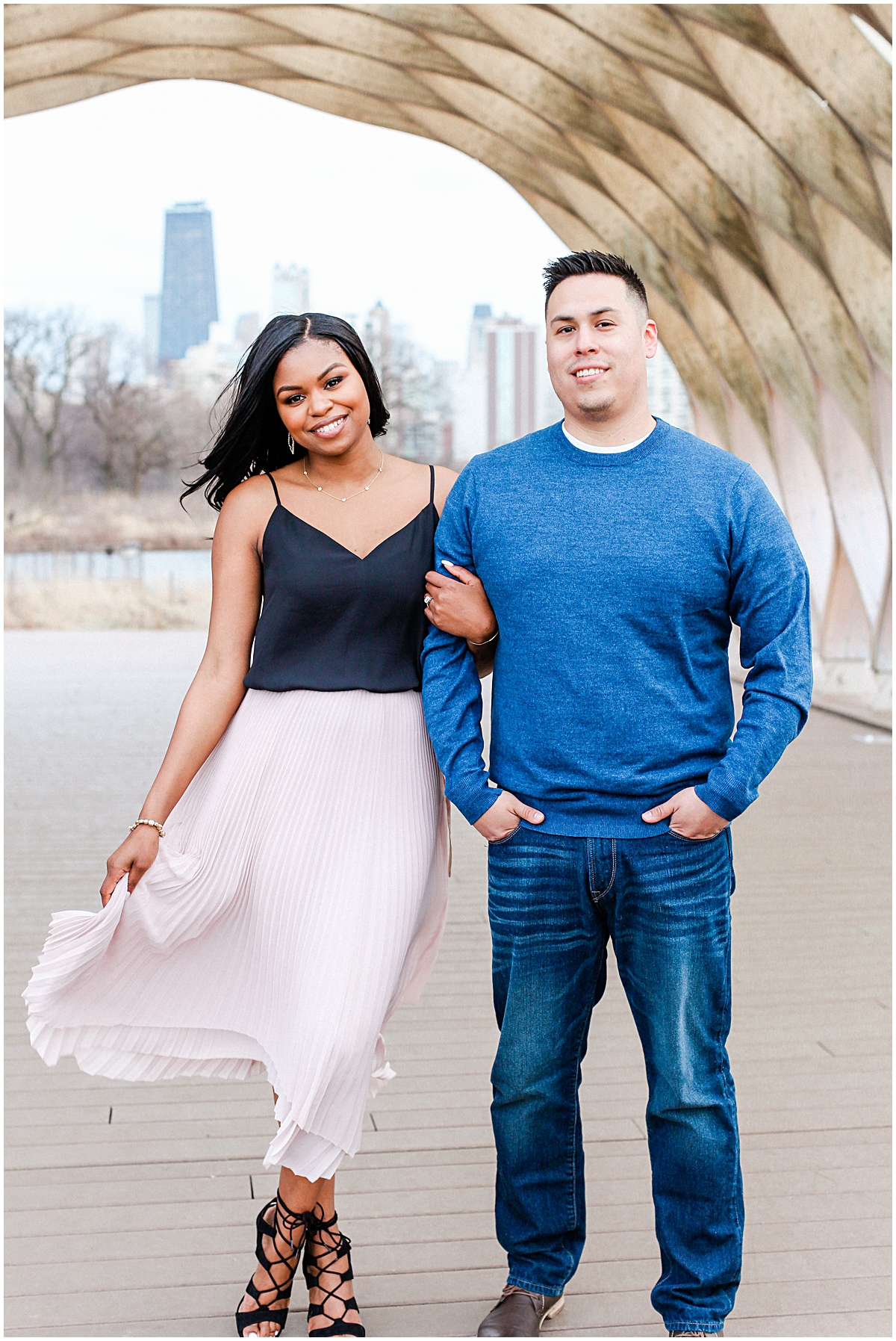 Lincoln Park Boardwalk Engagement Session_0031