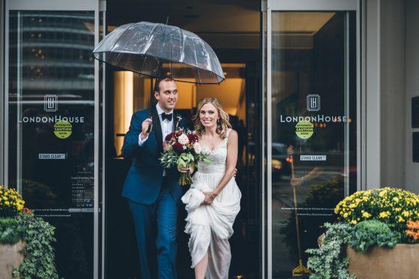 Rainy Day Chicago Wedding LondonHouse (15)
