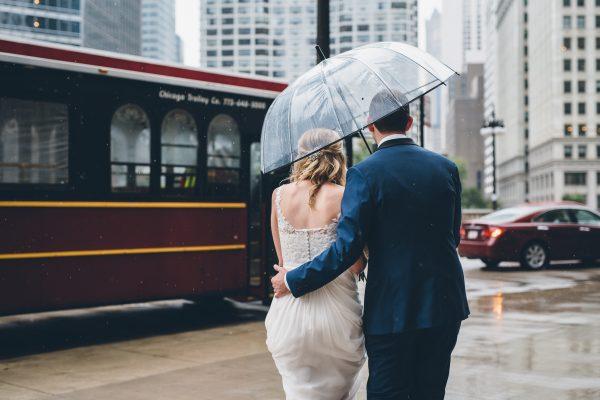 Rainy Day Chicago Wedding LondonHouse (16)