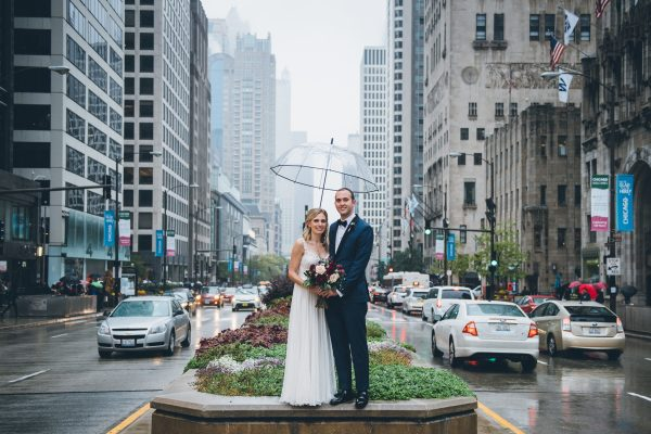 Rainy Day Chicago Wedding LondonHouse (25)