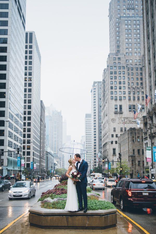 Rainy Day Chicago Wedding LondonHouse (26)