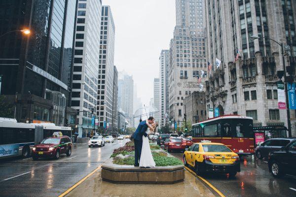 Rainy Day Chicago Wedding LondonHouse (27)