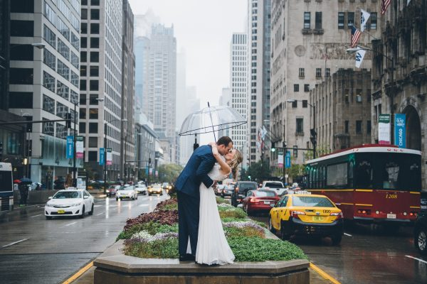 Rainy Day Chicago Wedding LondonHouse (28)