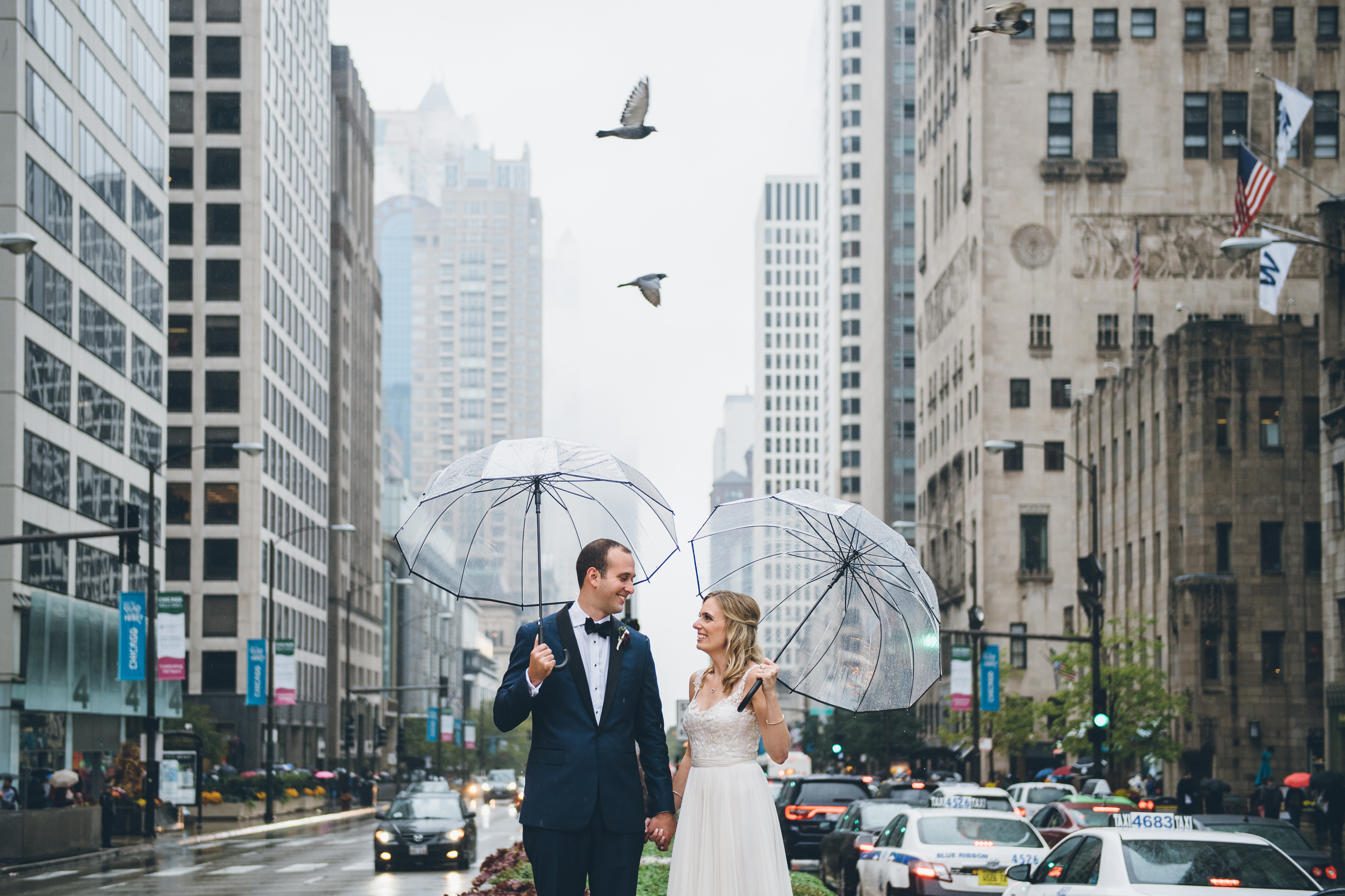 Rainy Day Chicago Wedding LondonHouse (29)
