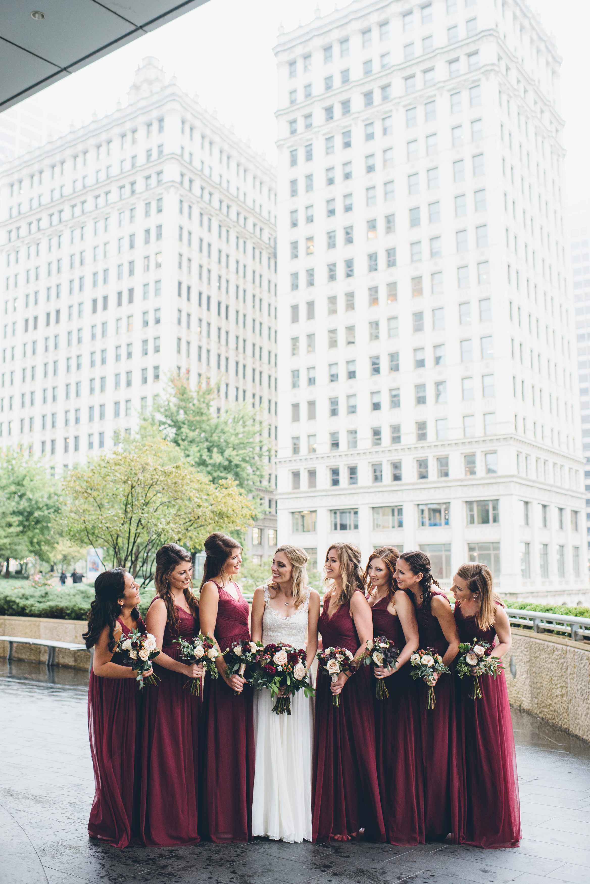 Rainy Day Chicago Wedding LondonHouse (30)