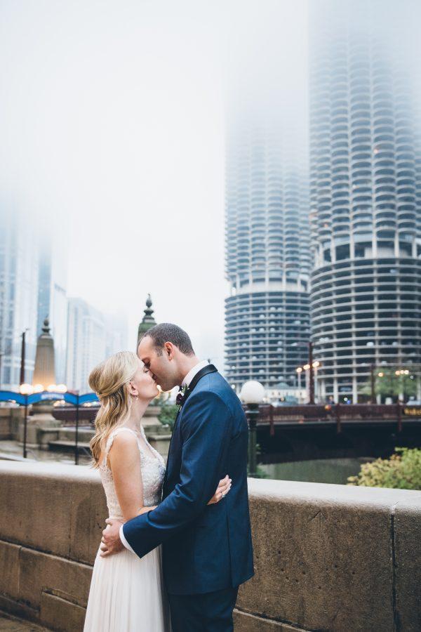 Rainy Day Chicago Wedding LondonHouse (39)