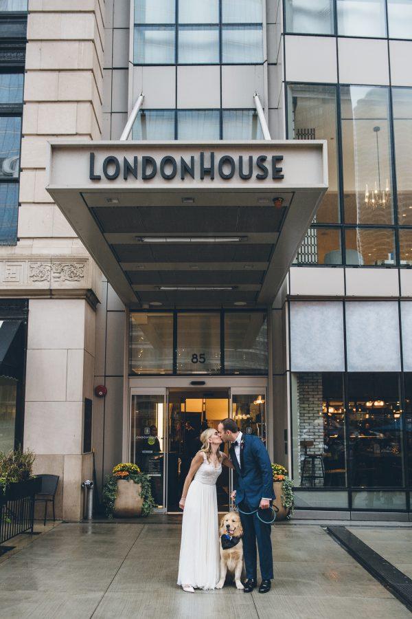 Rainy Day Chicago Wedding LondonHouse (41)