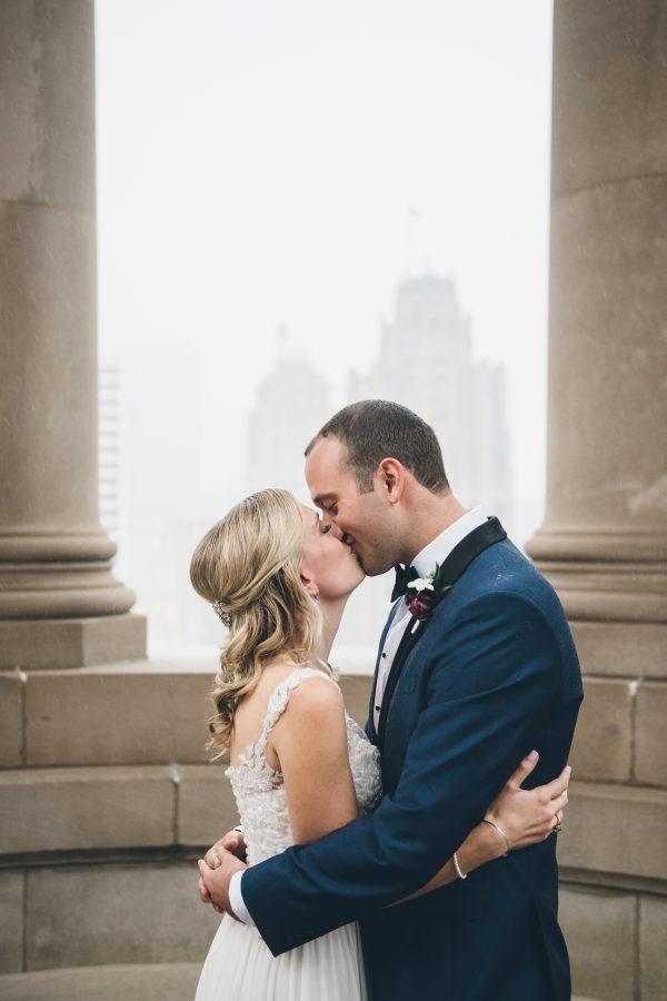Rainy Day Chicago Wedding LondonHouse (6)