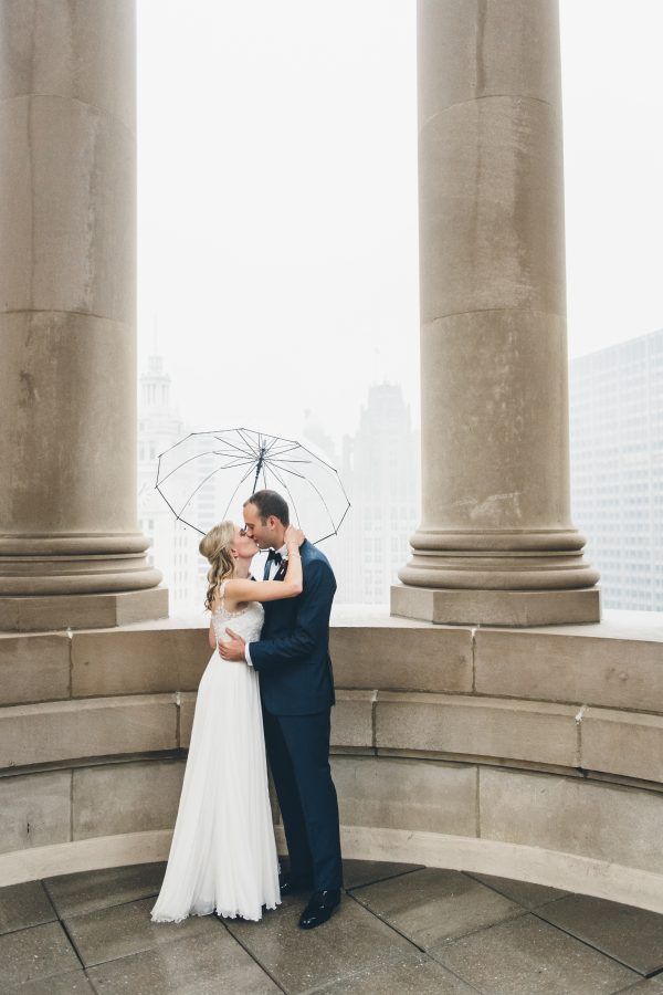 Rainy Day Chicago Wedding LondonHouse (8)