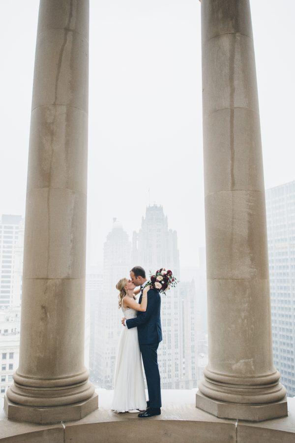 Rainy Day Chicago Wedding LondonHouse (9)