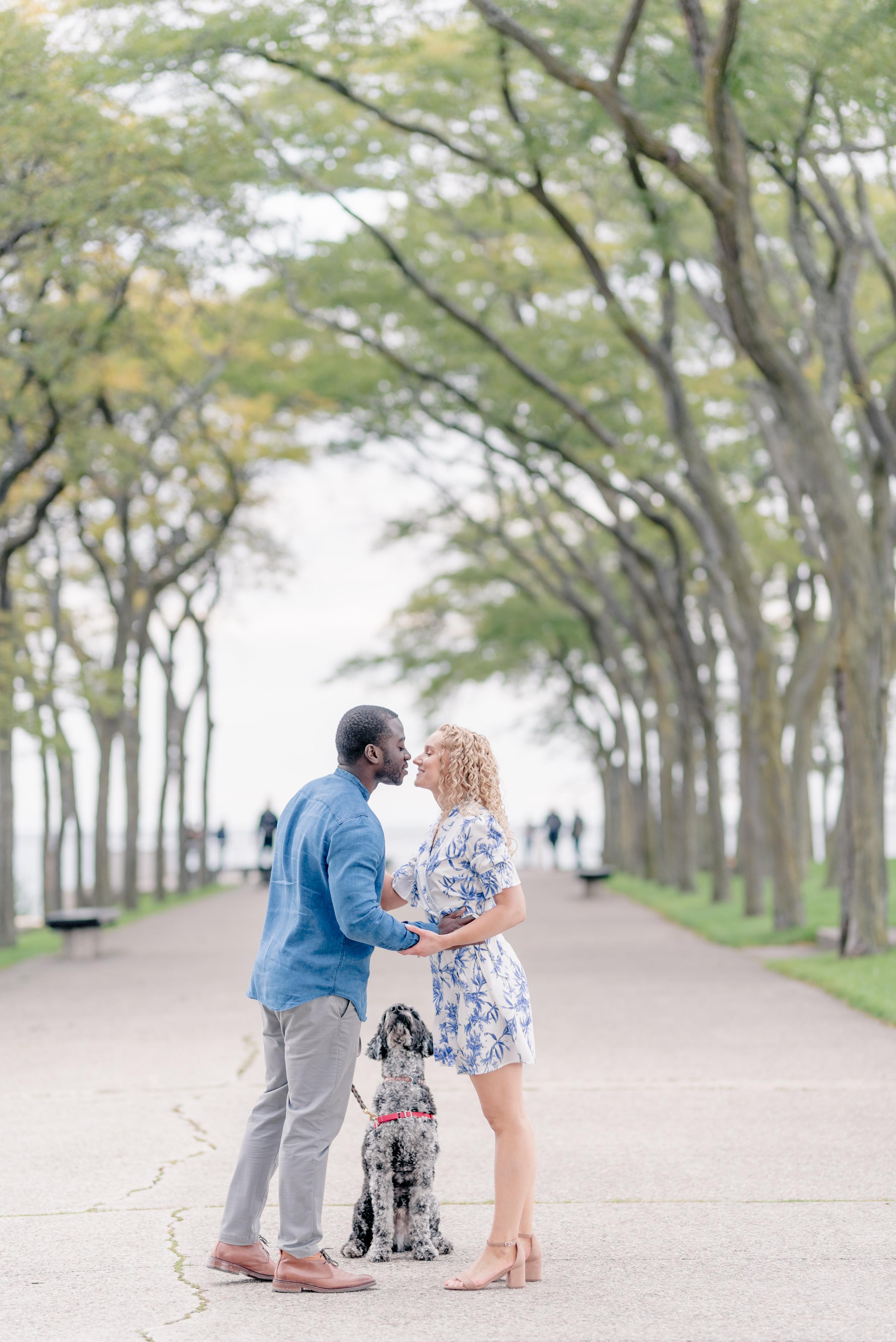 Milton Lee Olive Park Fall Engagement Session
