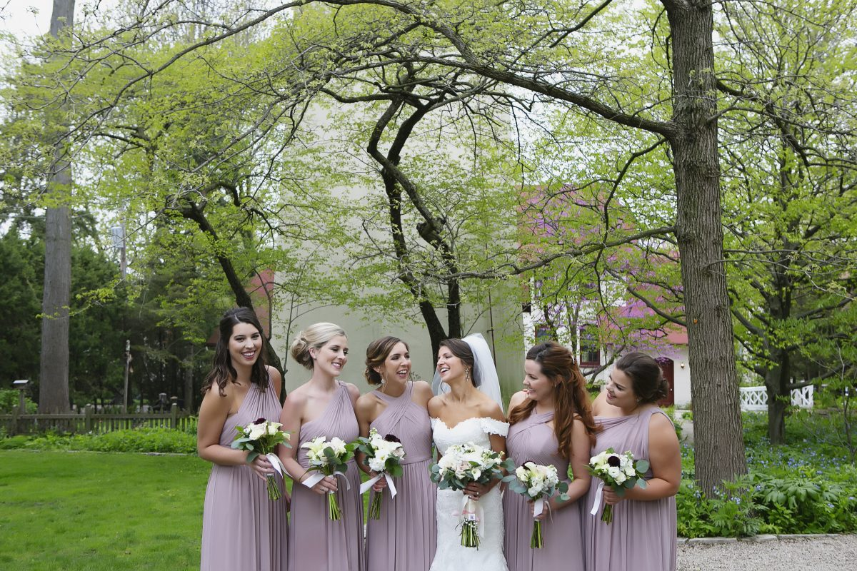 Womens Club of Evanston Wedding