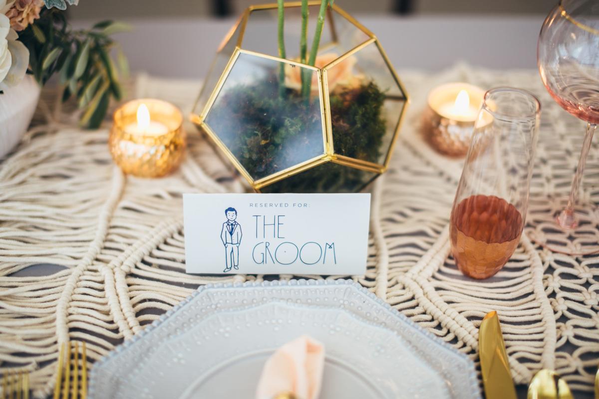 Chicago Bohemian Wedding Details