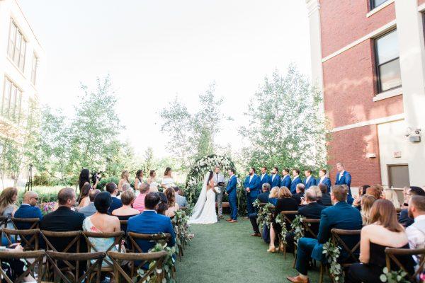 Chicago Wedding Greenhouse Loft Julie Steve (68)