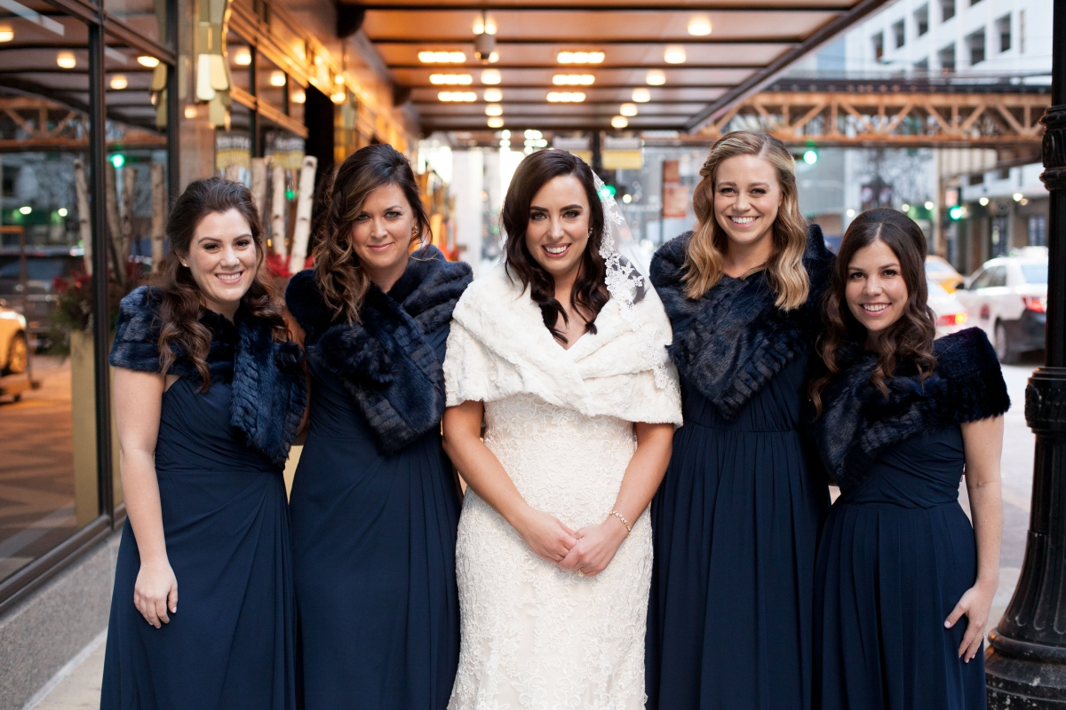 Navy Bridesmaids Dresses Hayley Paige
