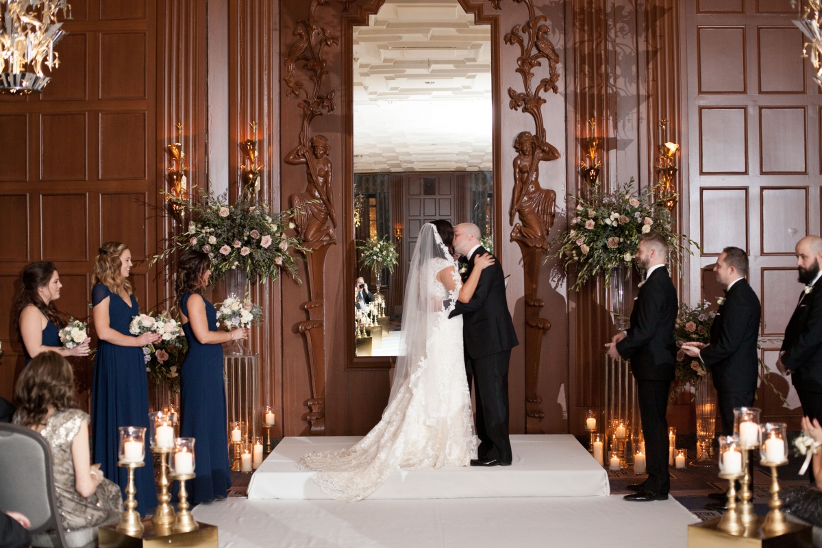 Chicago Winter Wedding at Hotel Allegro 51