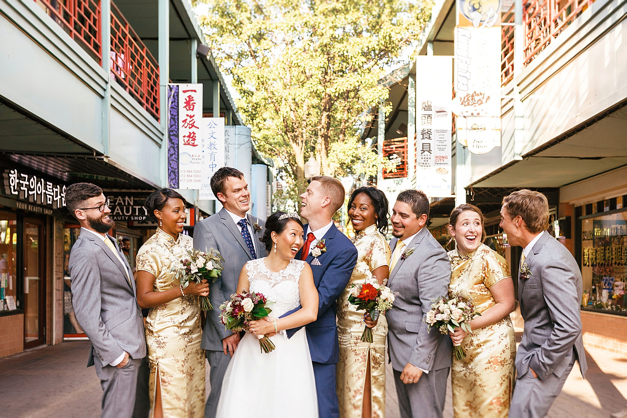Amy + Tyler, Chicago Chinatown Wedding, 2017