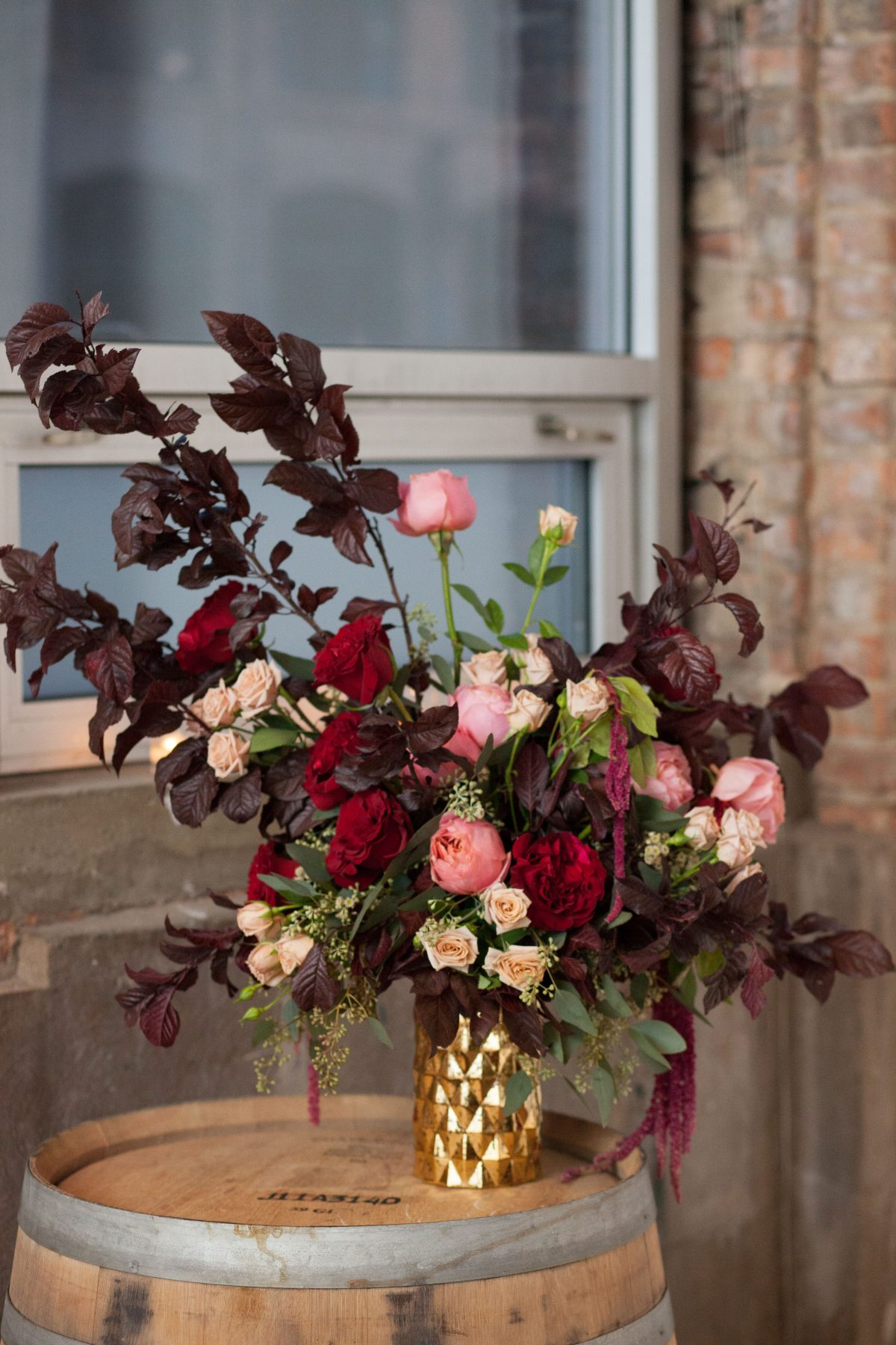 Chicago Fall Wedding at Gallery 1028