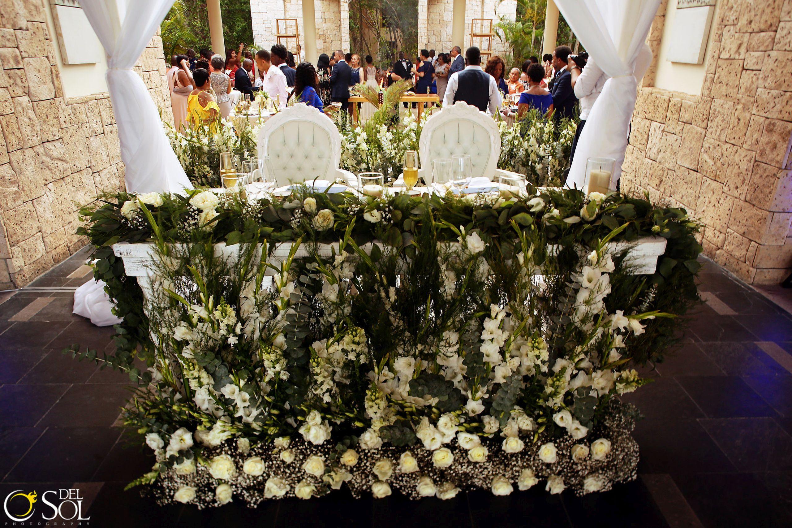 Tamika and Armando Wedding at Banyan Tree Residences Riviera Maya Mexico. Photos by del Sol Photography.