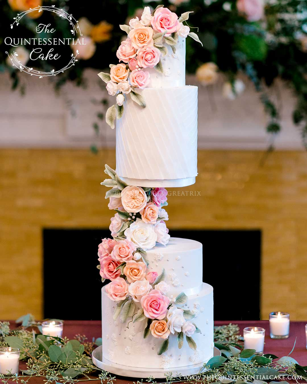 Floating-Tier-Roses-Cake