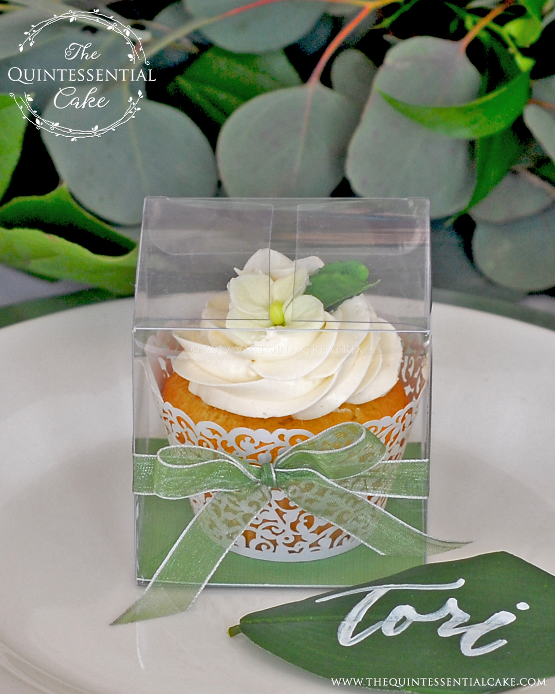 TQC Wedding Favour Cupcakes