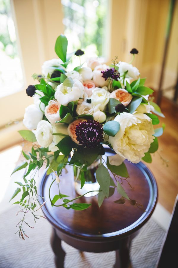 Bouquet with Garden Roses