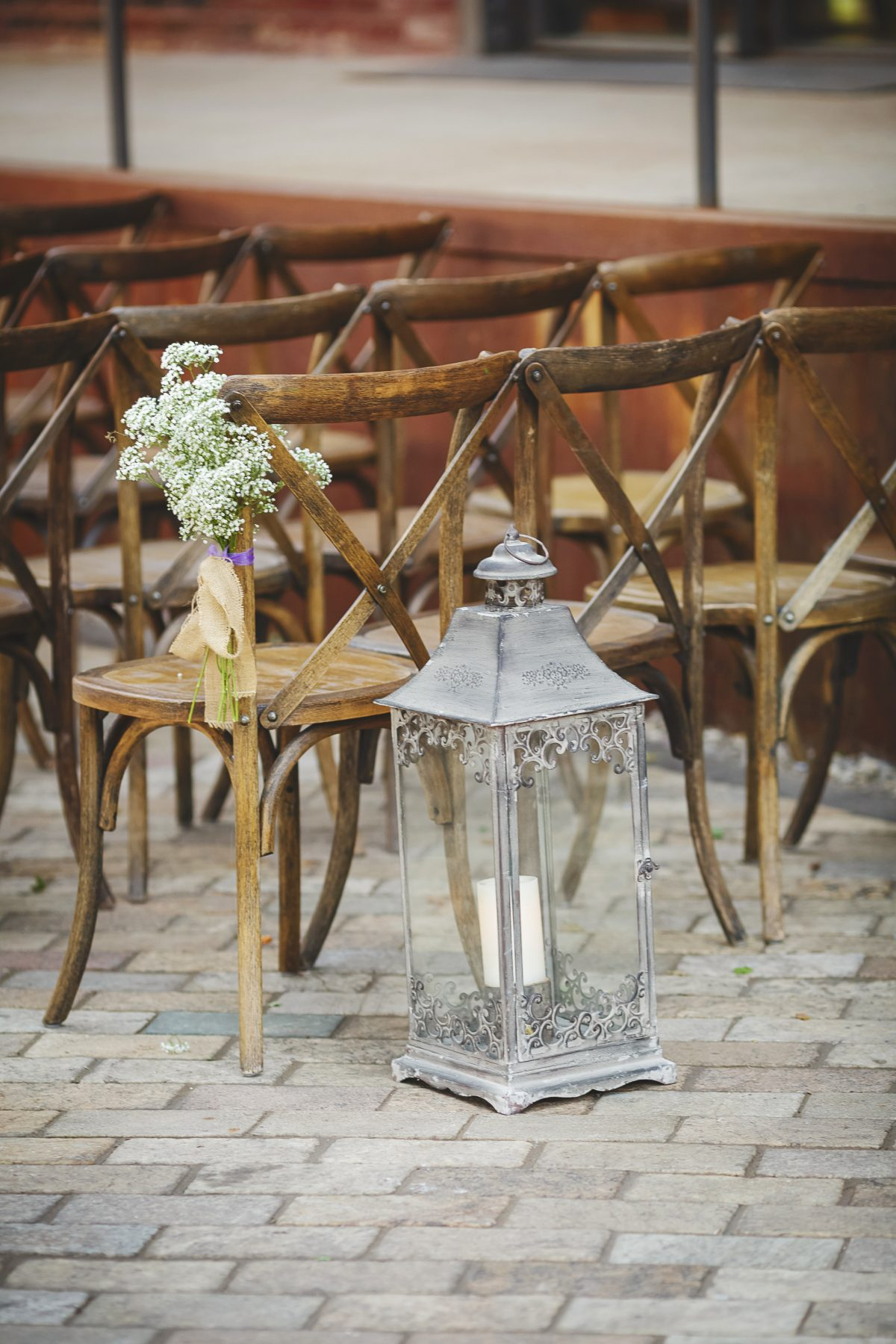 Lantern Wedding Ceremony Decor