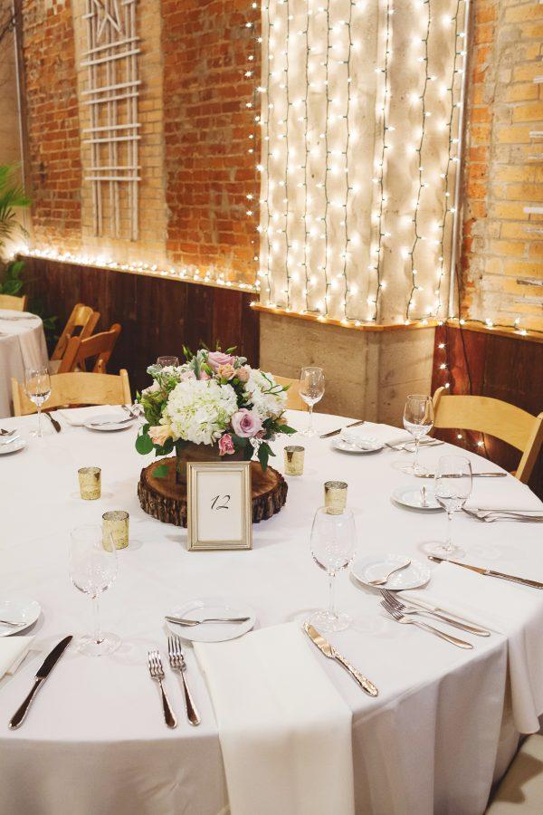 Blumen Gardens Wedding Reception