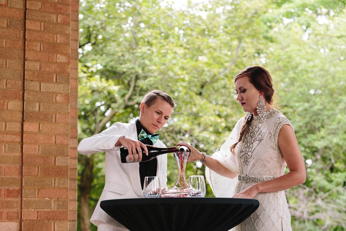 Wine Ceremony at Wedding