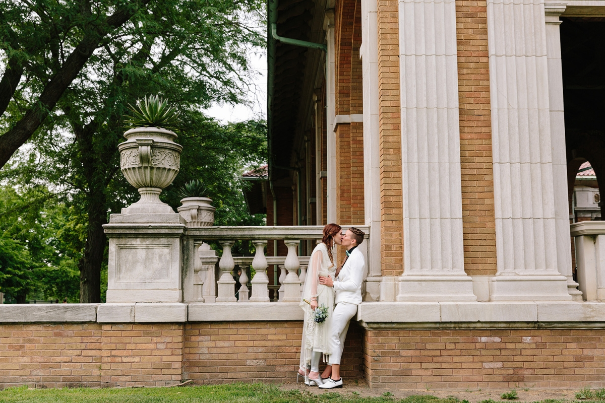 Chicago Columbus Park Refectory Wedding