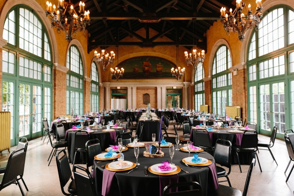 Chicago Columbus Park Refectory Wedding