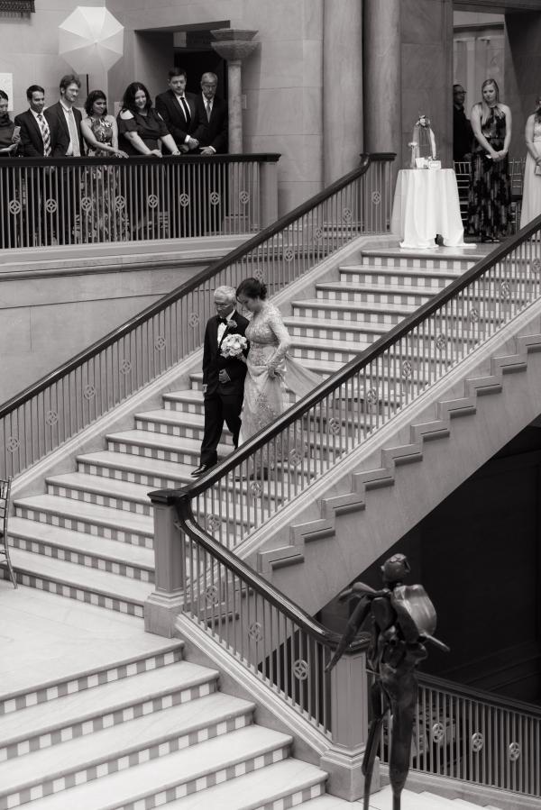 Art Institute of Chicago Wedding Gold Grid Studios (30)