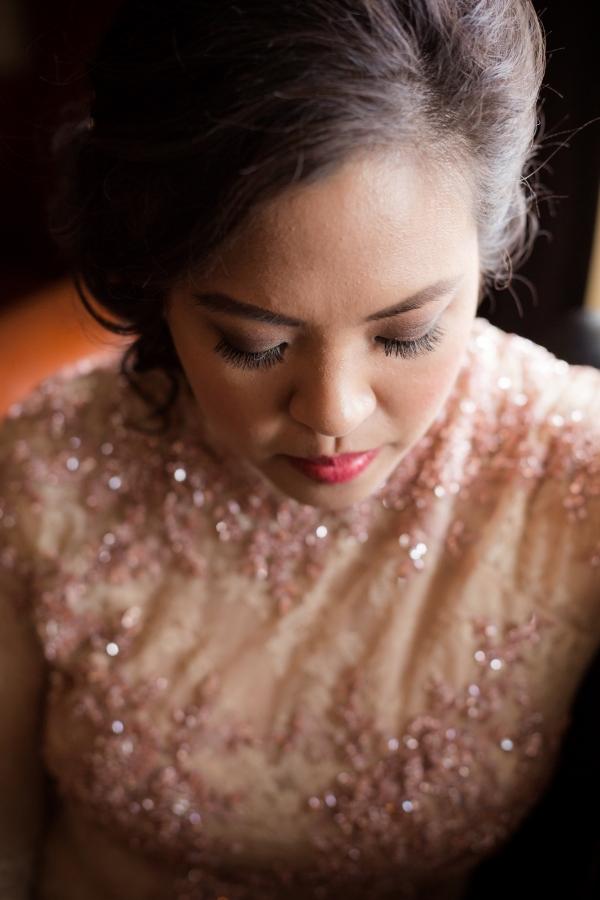 Bride in Traditional Vietnamese Wedding Attire