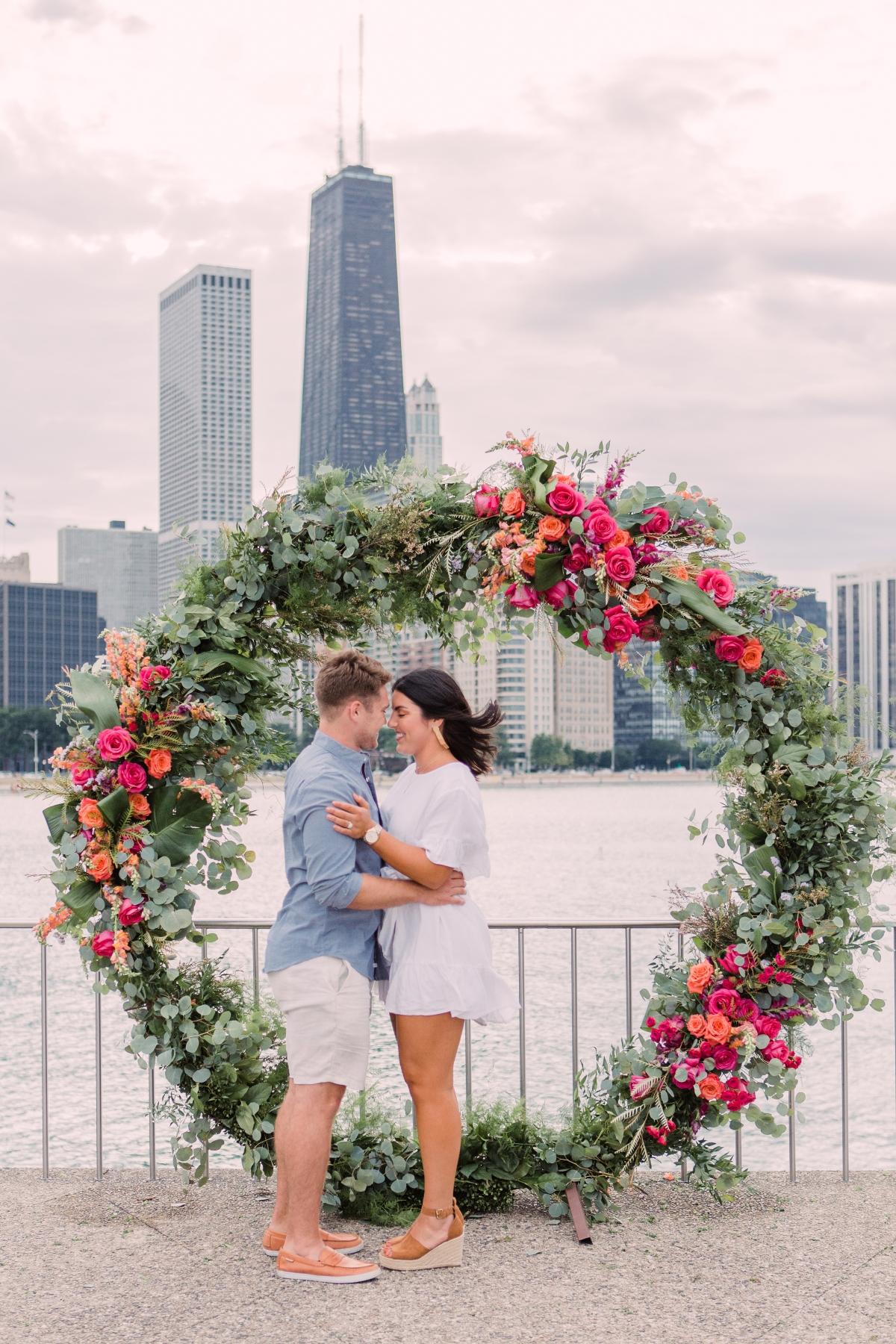 Chicago Olive Park Surprise Proposal 23