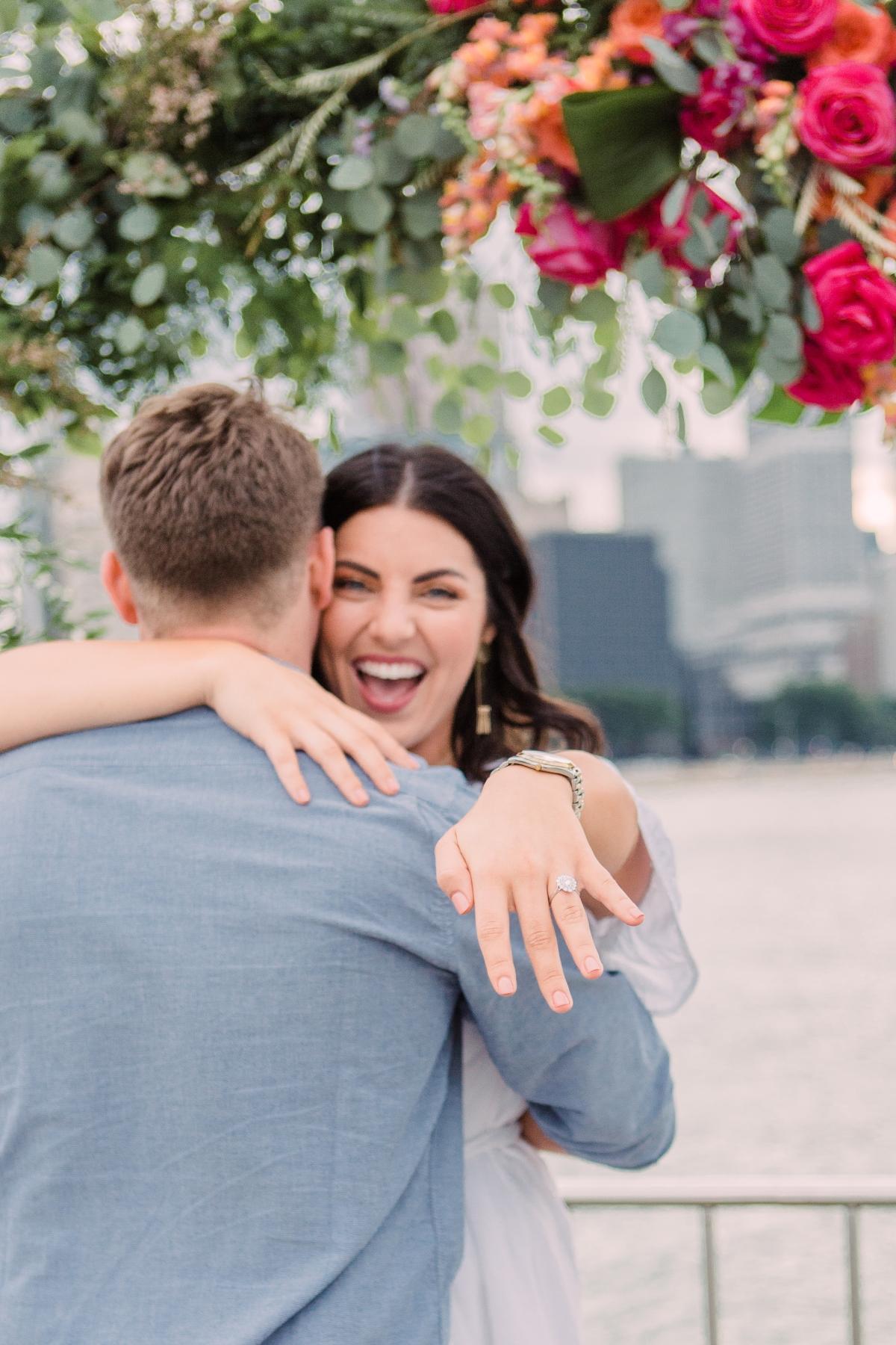 Chicago Olive Park Surprise Proposal 26
