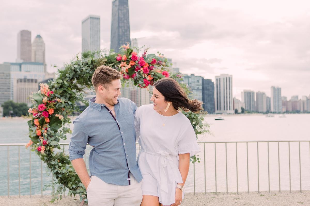 Chicago Olive Park Surprise Proposal 36