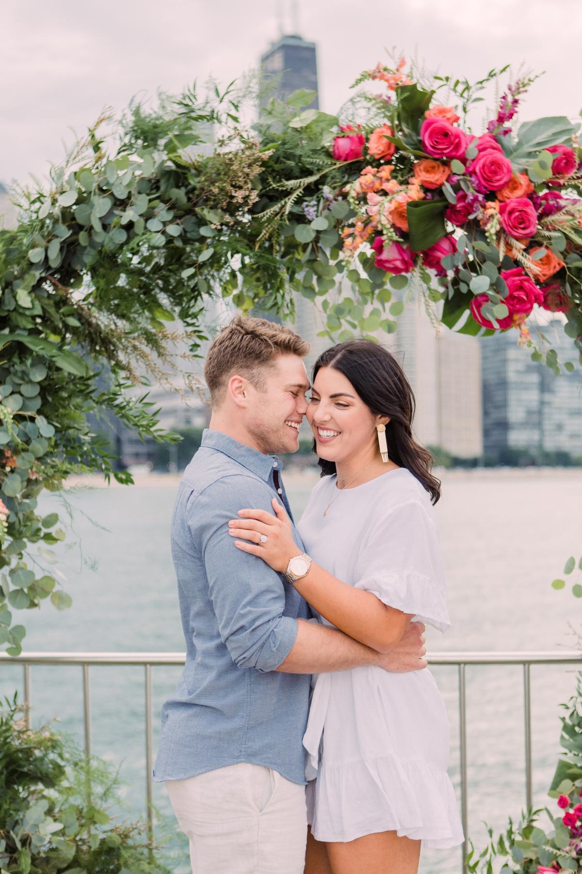 Chicago Olive Park Surprise Proposal 39