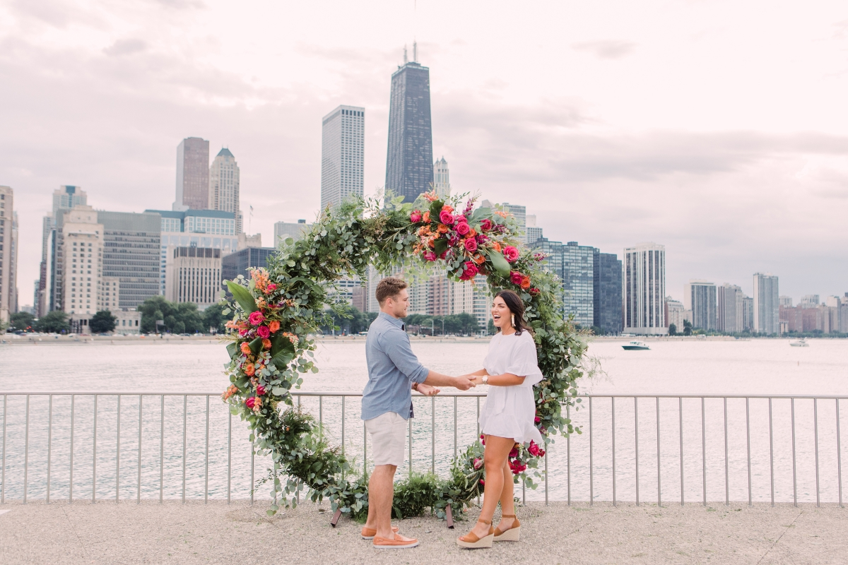 Chicago Olive Park Surprise Proposal 6