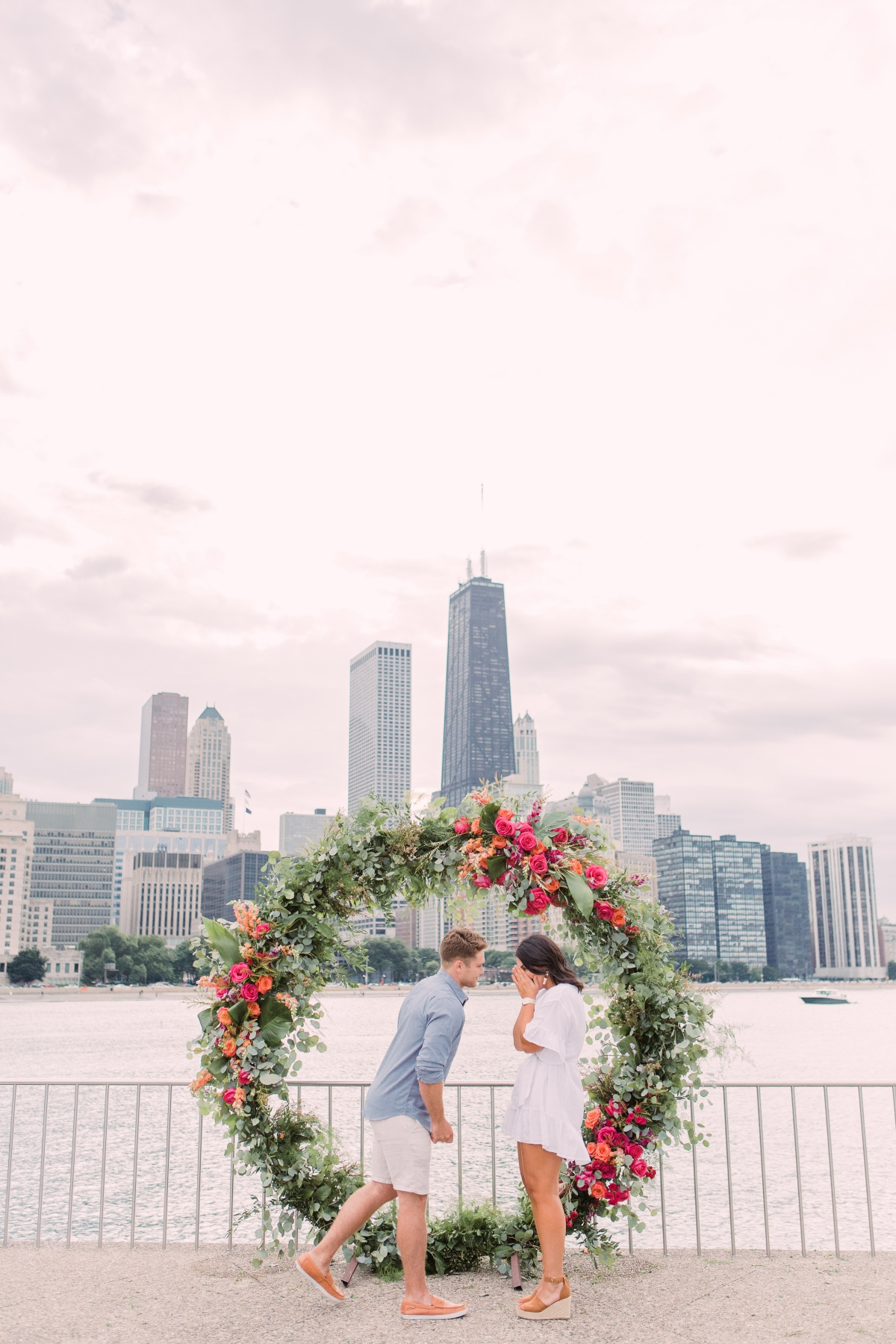 Chicago Olive Park Surprise Proposal 7