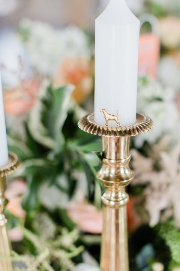 Dog Figurine Wedding Decor