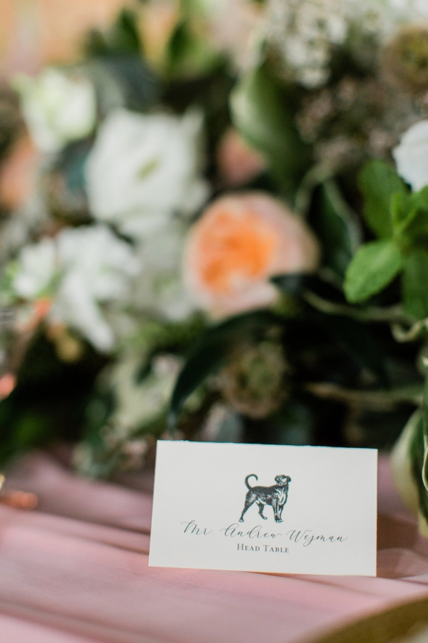 Dog Place Card