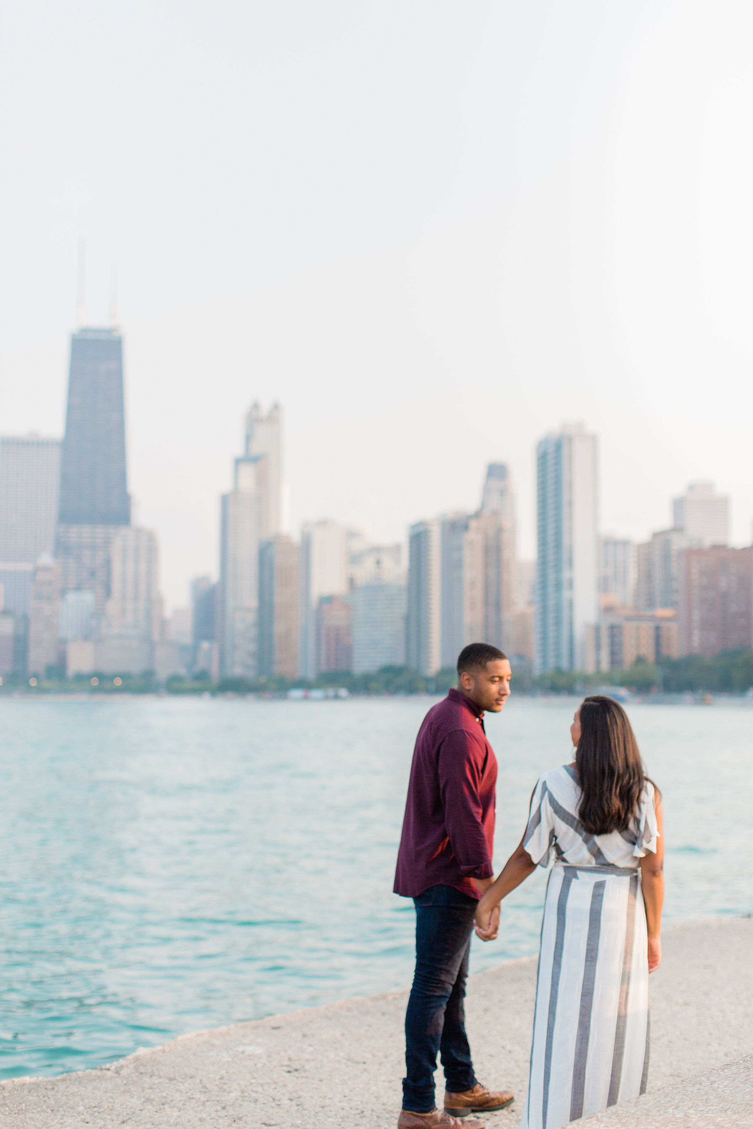 Lincoln Park Engagement Session Photography by Lauryn (26)