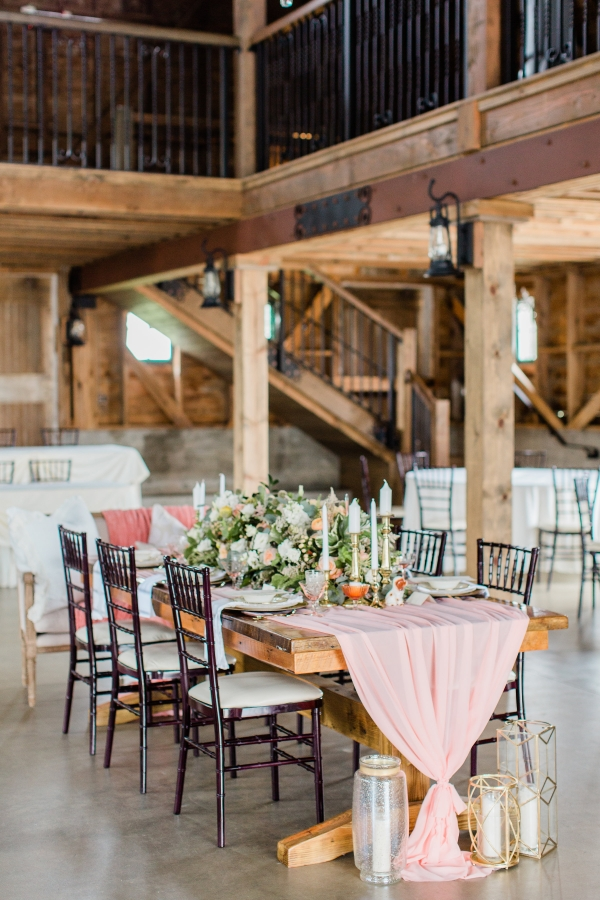 Romantic Pink and Gold Wedding Table Chicago Wedding (18)