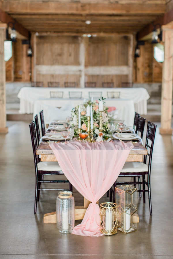 Romantic Pink and Gold Wedding Table Chicago Wedding (19)