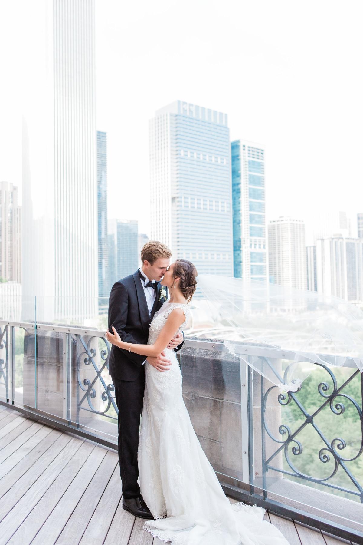 University Club Chicago Wedding Photography by Lauryn