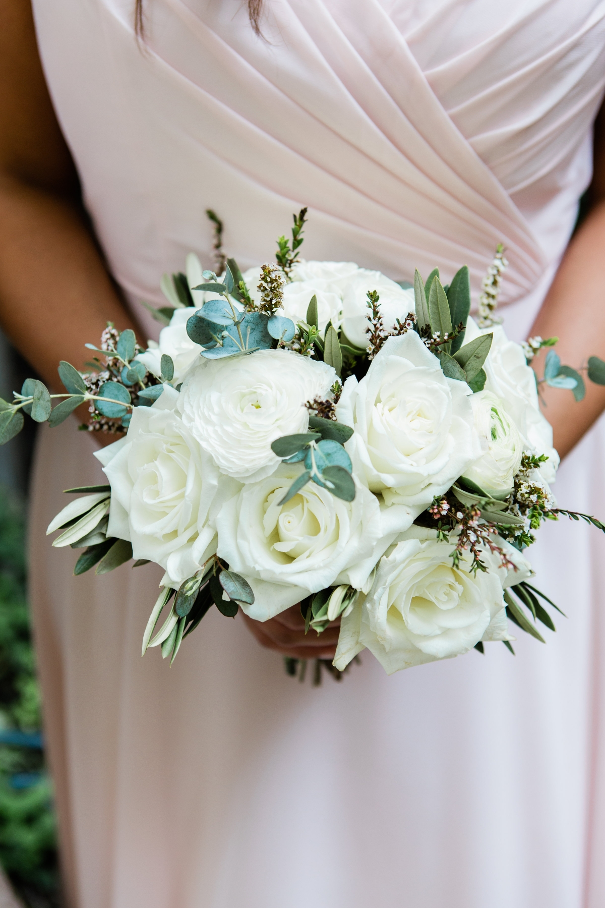 Ivory Bridesmaids Bouquet